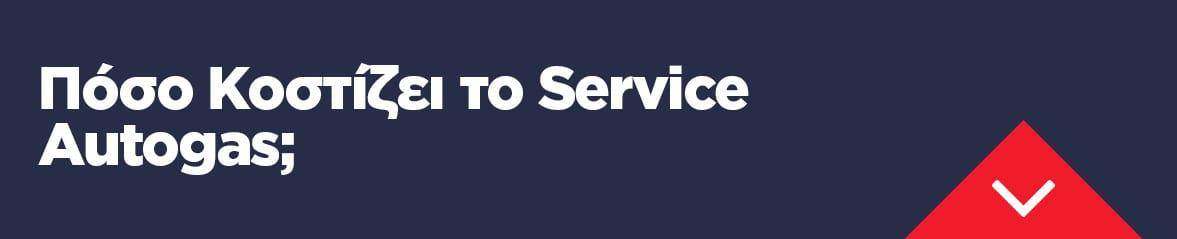 Πόσο Κοστίζει το Service Autogas ;