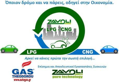 φυσικό αέριο κίνησης cng
